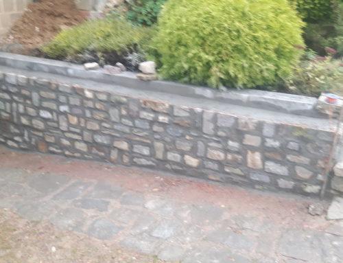 Réhabilitation d'un ancien mur